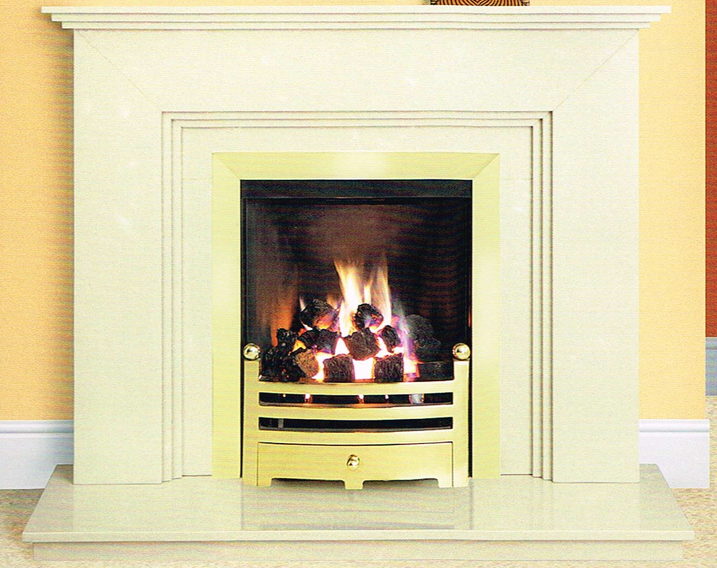 Micromarble Fireplces COMPTON