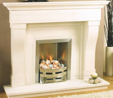 Marble & Limestone Fireplaces CHATEAU