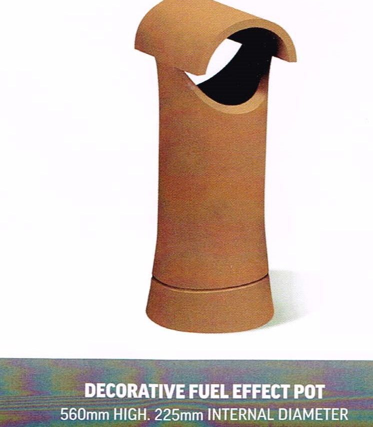 CHIMNEY POTS DFE POT