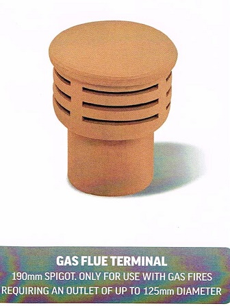 CHIMNEY POTS GAS FLUE