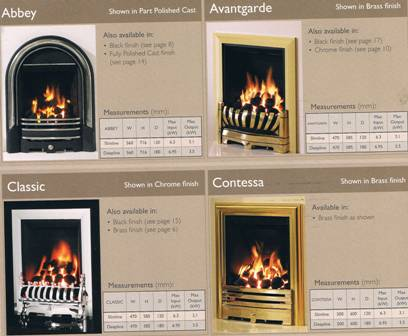 Gas Inset Fires INSET GAS FIRES