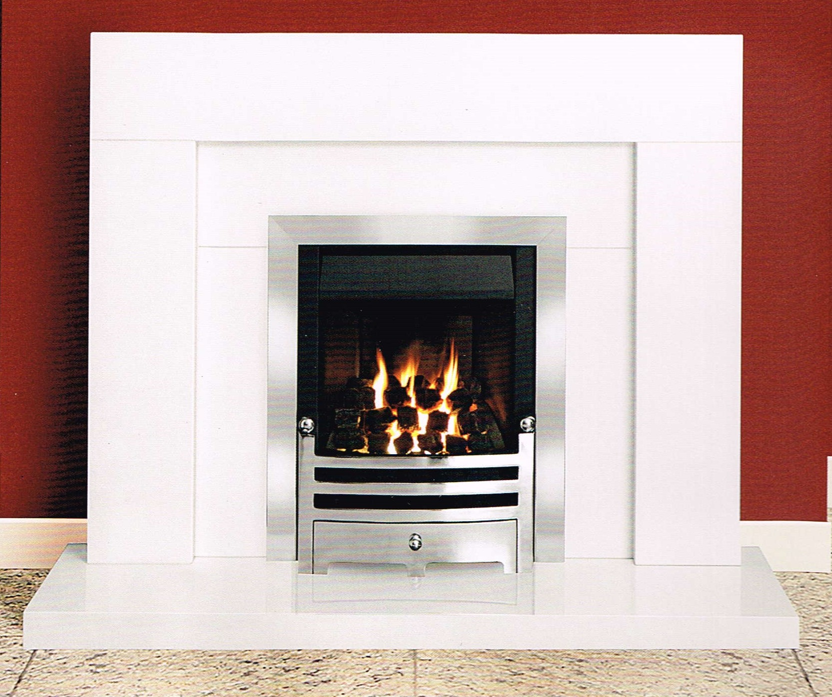 Micromarble Fireplces HEDDON