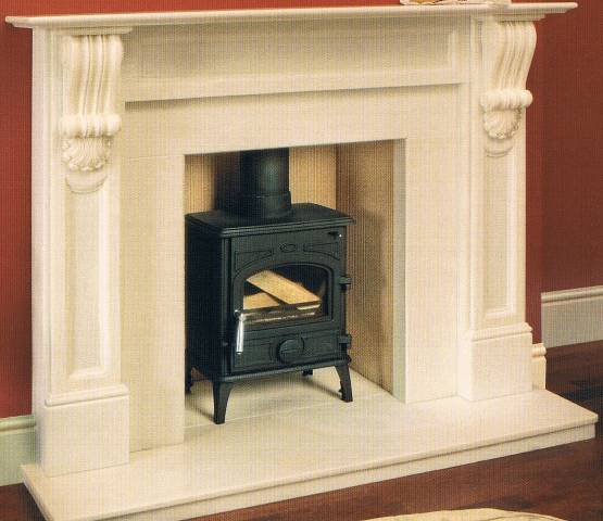MARBLE MANTELS WILLIAM IV CORBEL MANTEL