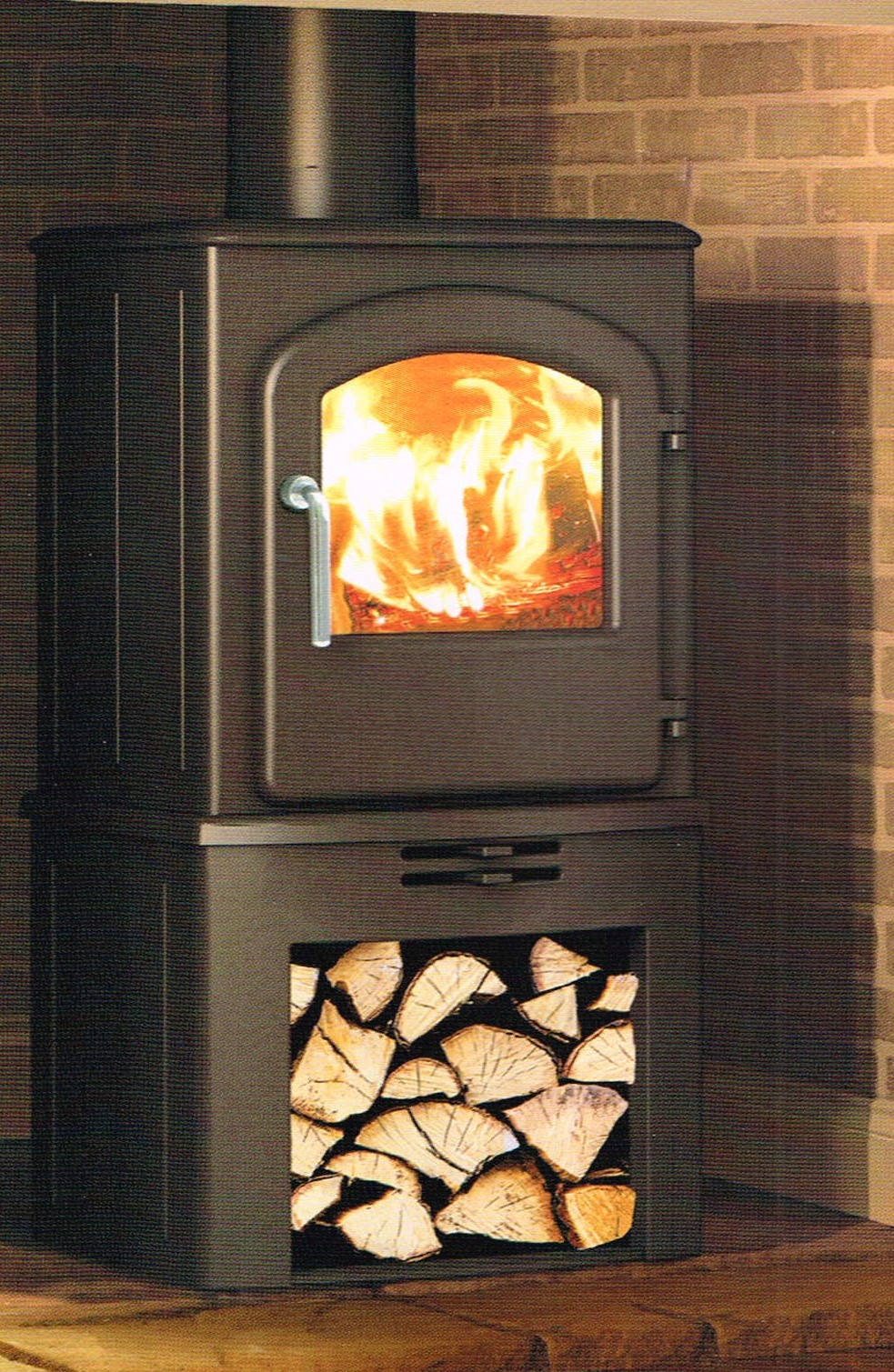 Stoves SERRANO 5 SE WITH LOG STORE