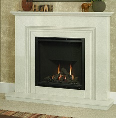 Marble & Limestone Fireplaces VAMELLA GAS FIREPLACE