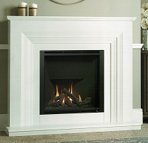 Marble & Limestone Fireplaces VITALIA GAS FIREPLACE