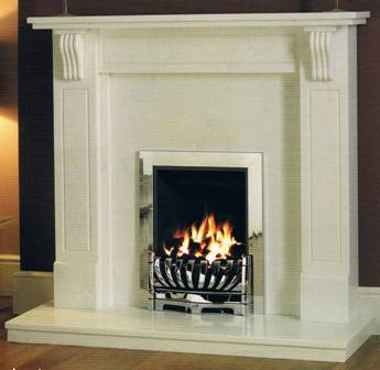 Marble & Limestone Fireplaces Louisa